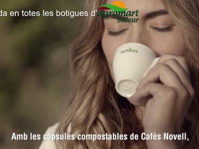 Cápsulas de café compostable