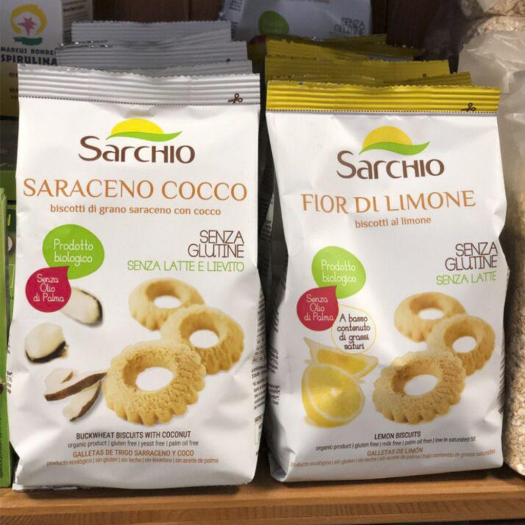 Galletas Sarraceno Cocco y Dior di limone sin gluten