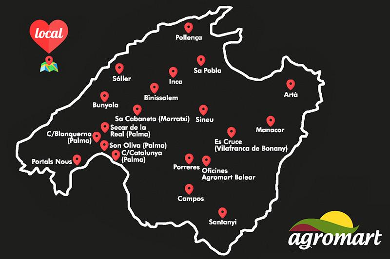 Tiendas Agromart en Mallorca