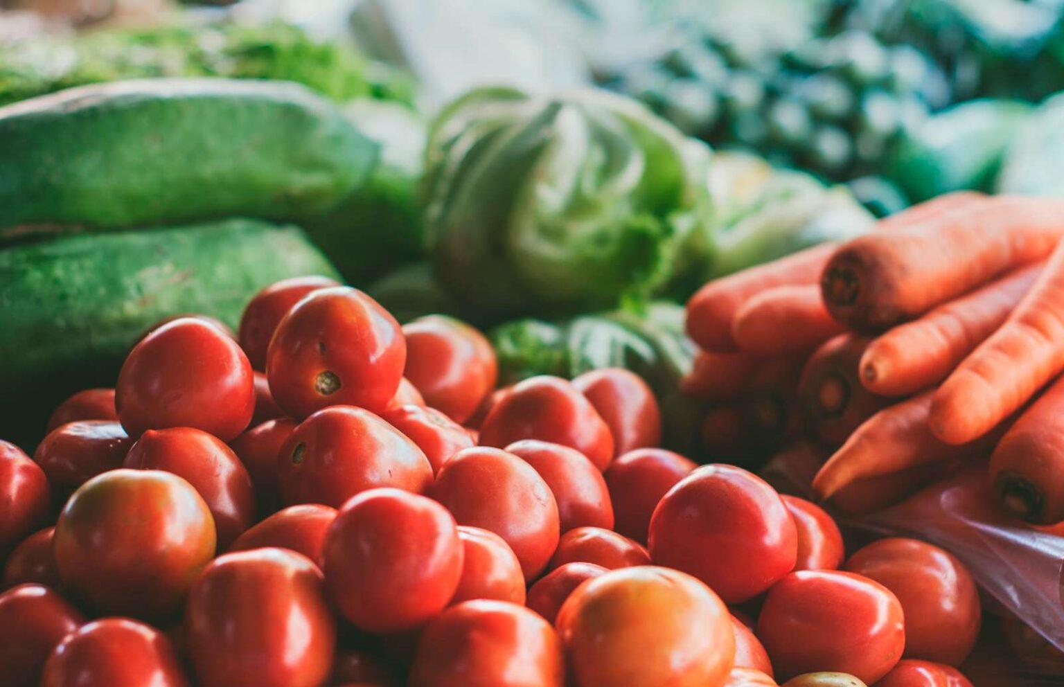 Maravillosas frutas y verduras